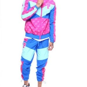 """Pink Dolphin """"Mr Positive' warmups (S)"""